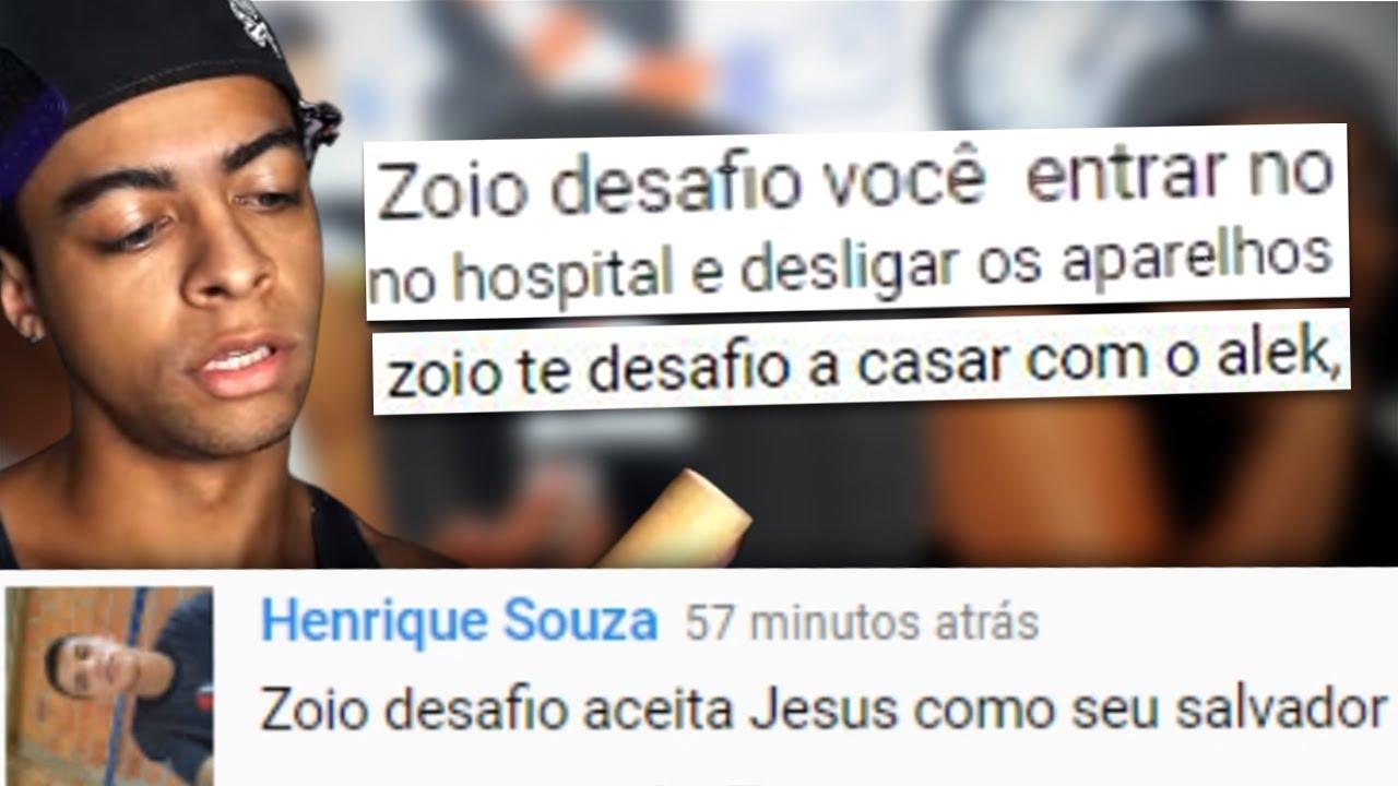 Download OS COMENTÁRIOS DO ZOIO NÃO SÃO MAIS OS MESMO!!