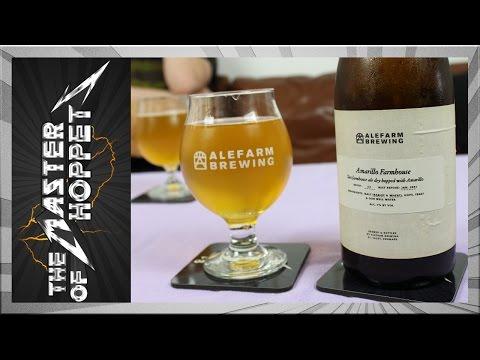 Alefarm Amarillo Farmhouse | TMOH - Beer Review #2186