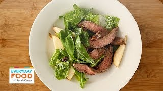 Steak And Pear Salad - Everyday Food With Sarah Carey