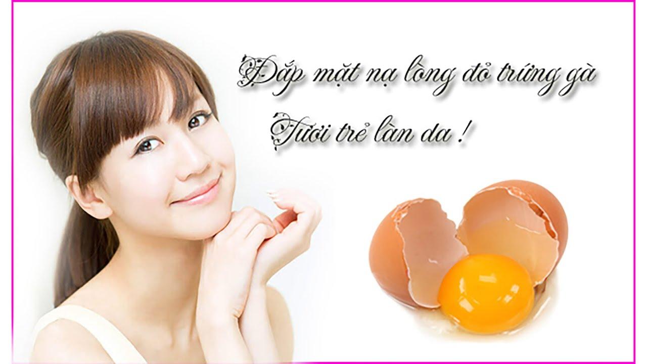 Mặt nạ trắng da bằng trứng gà | White skin mask with chicken eggs