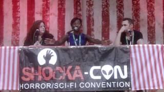 PopCult/ShockaCon 2015: The Walking Dead with Jeryl Prescott and Adam Minarovich
