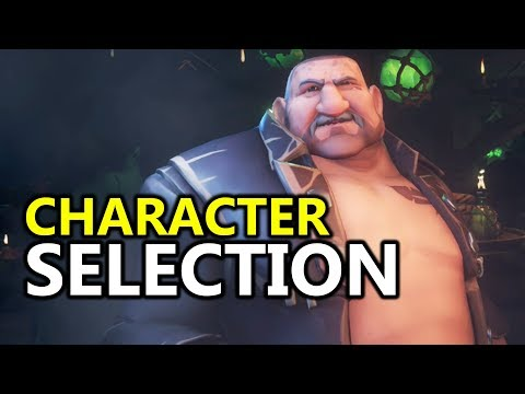 Sea of Thieves Character Selection First Look & How It Could Be Improved