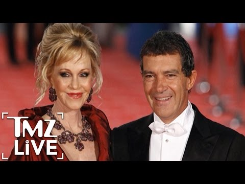 Antonio Banderas & Melanie Griffith: Divorce Settled | TMZ Live