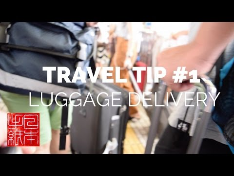 Travel Tips - Luggage Delivery | Takuhaibin - Letters from Japan