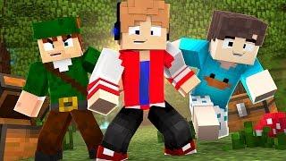 O COMEÇO DE UMA NOVA AVENTURA COM AMIGOS! - POCKET AVENTURA #1 (Minecraft Pocket Edition)