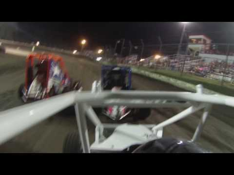 Preston Scheulen Racing 07-23-16 A feature Port City Raceway Tulsa OK Junior Micro Sprint Dirt Track