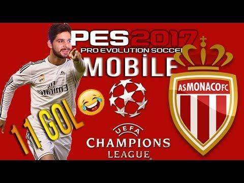 UEFA Şampiyonlar Ligi AS Monaco FC - PES 2017 Mobile - Android&İOS [Türkçe]