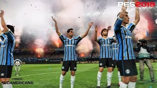 PES 2019 | Copa Libertadores Cuartos | Grêmio Porto Alegre vs Atl.Tucumán | Gameplay PS4