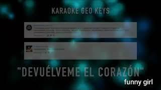 Karaoke - Ariana sanchez - sebastian yatra - devuelveme el corazon