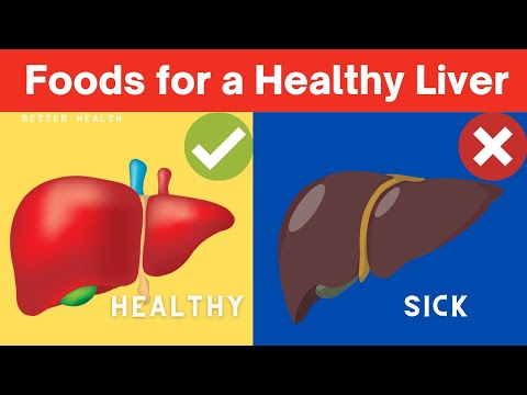 10 Best Foods For Your Liver #Shorts