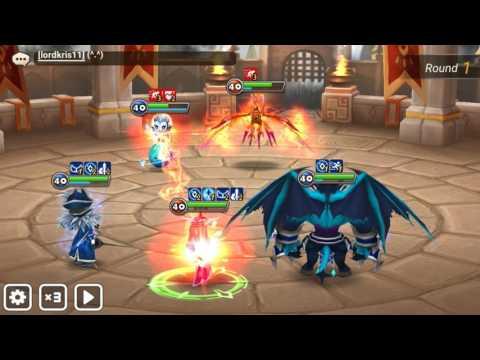 Summoners War ~ Guild War Vrk Hipster, Dragon Tiger Gate