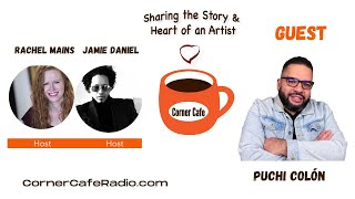 Saturday, June 26 - Full Corner Cafe Radio Interview with Puchi Colón