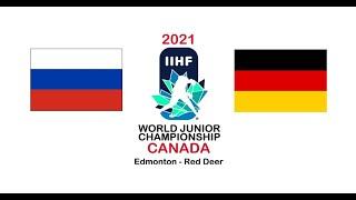 Россия Германия 2 1 обзор матча МЧМ 2021 ХОККЕЙ МОЛОДЕЖНЫЙ ЧЕМПИОНАТ МИРА прямая трансляция матча