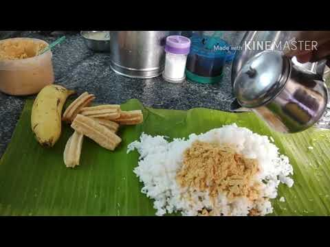 Andhra mess - OMR unlimited meals with banana leaf.