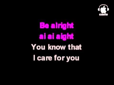 Justin Bieber Be Alright karaoke