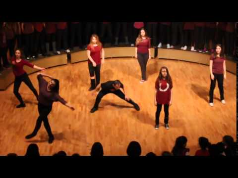 Shake Ted  2014 New Year  (Ted Ankara College Foundation High School)