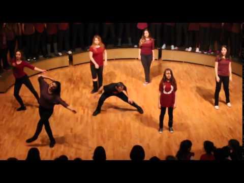 Shake Ted  2014 New Year  (Ted Ankara College Foundation High School)