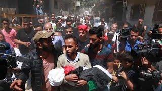 Rabia y dolor en la Franja de Gaza en el aniversario de la Nakba