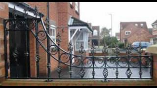 Wrought Iron Work Gates, Railings, Balconies, Spiral Staircases, Security Grills