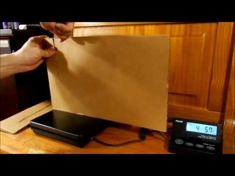 Knife CUT TEST: Digital Scale & Cardboard / How Many Pounds of Force?