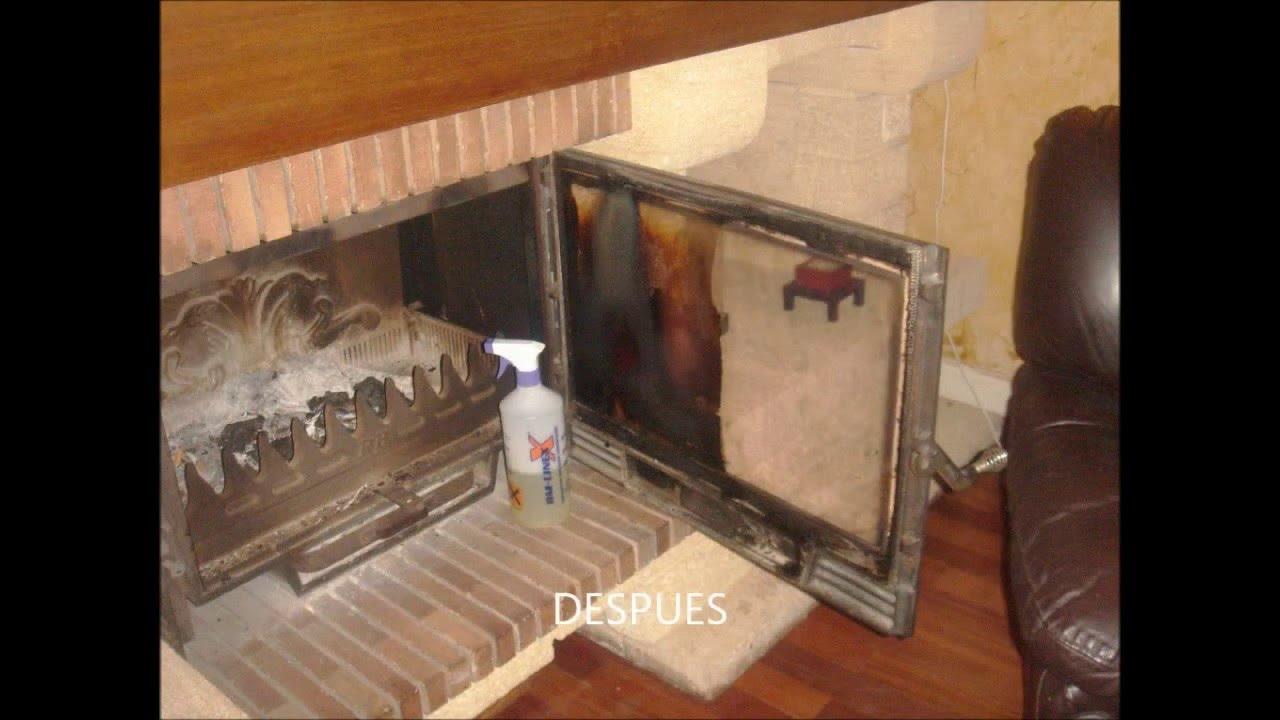 Como limpiar chimeneas alfombras paredes hornos con un - Como limpiar chimenea ...