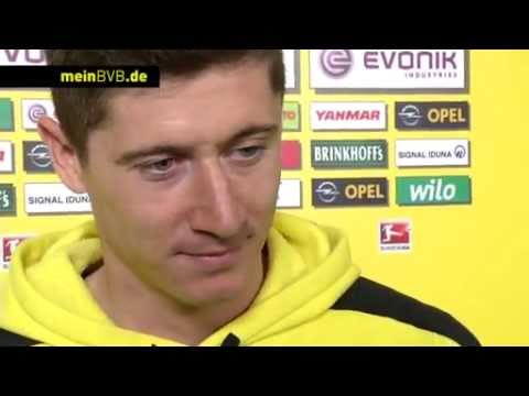 BVB - FSV Mainz 05: Interview mit Robert Lewandowski