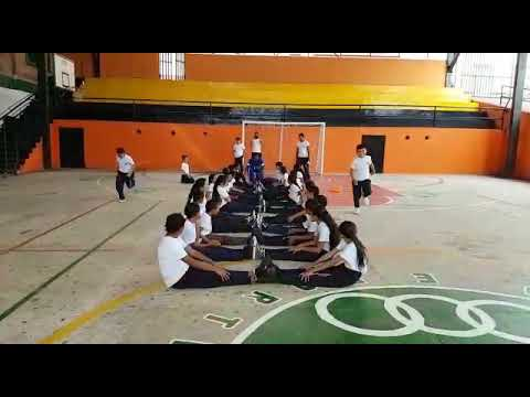 Actividades de flexibilidad . Ejercicios en el suelo por parejas