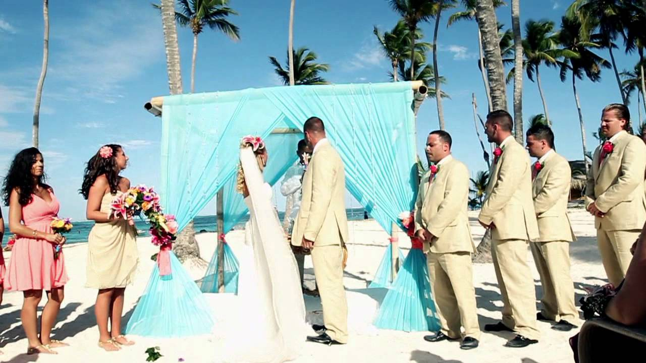 Wedding March 2017 Majestic And Jellyfish Restaurant Punta Cana You
