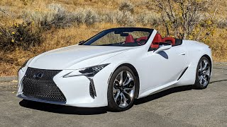 The Lexus LC500 Convertible Is Almost Perfect