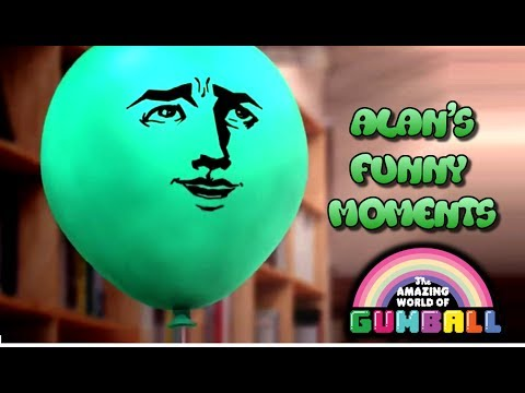 The Amazing World Of Gumball | Alan's Funny Moments