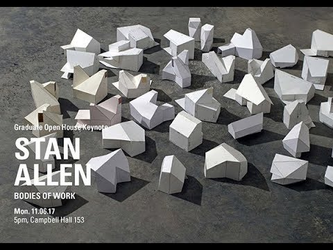 STAN ALLEN: Bodies of Work