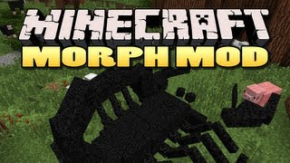 Minecraft: Morph Mod | Become any mob!