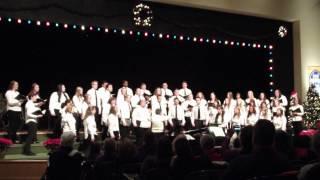 Carol of the Bells ... Notre Dame College Concert Choir ..M.Leontovich,arrWilhousky @ NDC '13