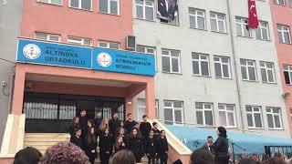 Tekirdağ Altınova Ortaokulu 10 Kasım Korosu 2018
