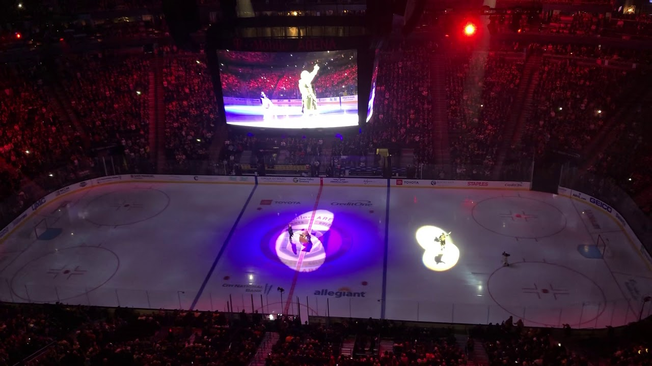 New 2018-19 Vegas Golden Knights Pregame Opening Show - 20-01-2019