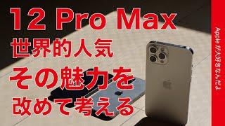 全米1位で世界的人気!iPhone 12 Pro Maxの魅力を改めて考える・12 miniユーザーが再び集中使用