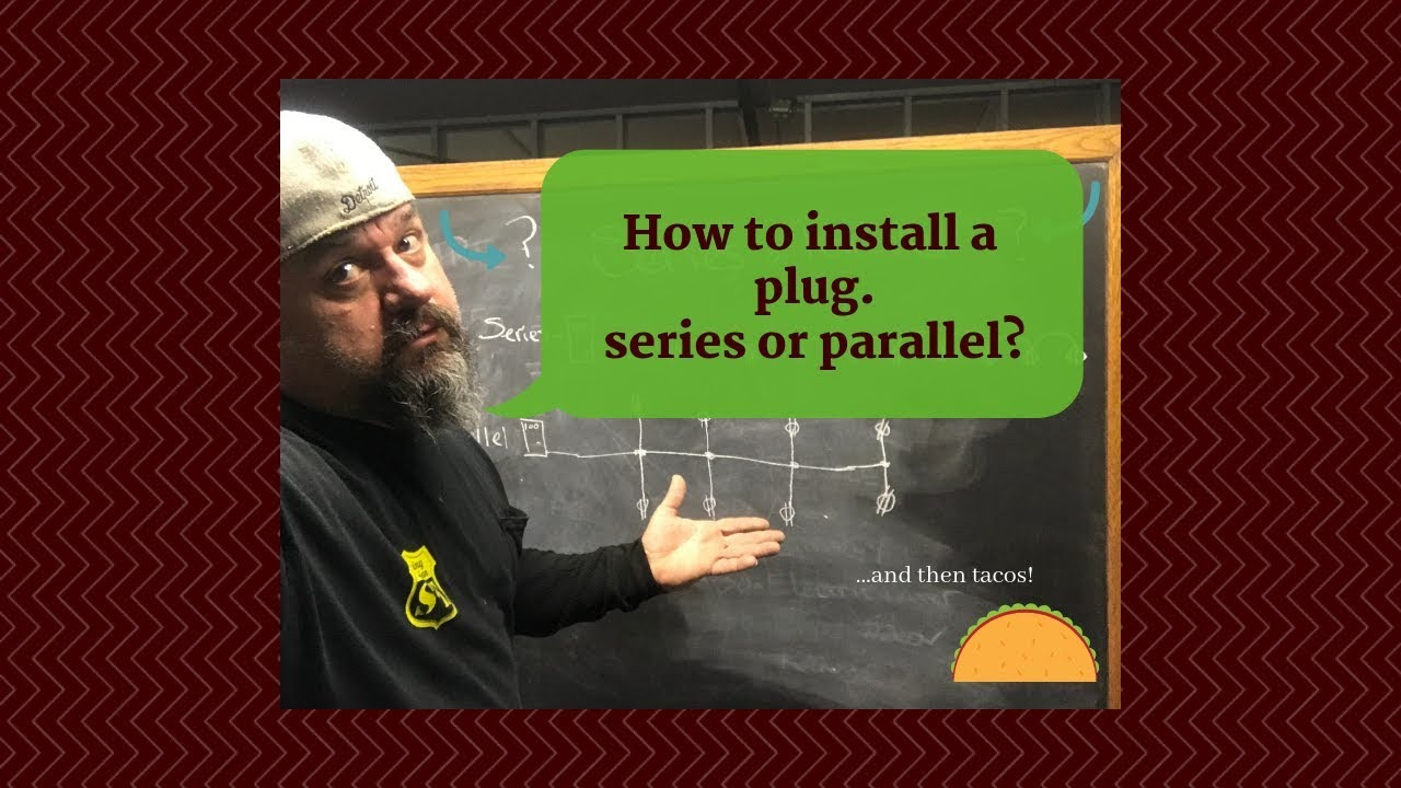 How To Wire Outlets In Series Or Parallel Wiring Multiple Outlets In Series Parallel Electrical Youtube