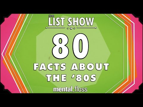 80 Facts about the '80s - mental_floss on YouTube - List Show (247)