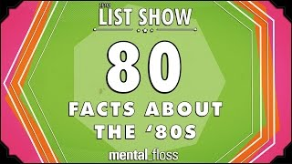 80 Facts about the '80s  mental_floss on YouTube  List Show (247)
