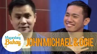 Magandang Buhay: John Michael shares his life story and gets a message from Ogie