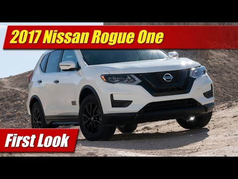 2017 Nissan Rogue One Star Wars Limited Edition: First Look