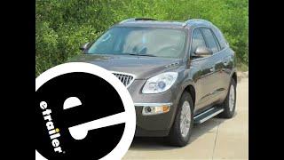 WeatherTech Front Floor Liners Review - 2009 Buick Enclave - etrailer.com
