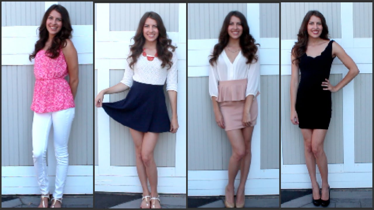3e5cbe62b41 What to Wear For Sorority Recruitment - YouTube