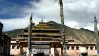 Tibet. Samye Monastery.(Central Tibet. Samye Monastery (Samye Gompa). Mindroling, Samding Monastery, Yamdrok Lake. Тибет. Самье -- первый буддийский монастырь в Тибете,., 2010-11-01T15:40:56.000Z)