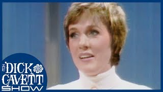 Julie Andrews Talks About Finding Her Singing Voice | The Dick Cavett Show