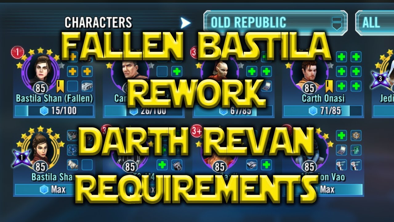 Darth Revan Is Coming - How To Chase The SWGOH Meta | Nerd