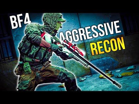 AGGRESSIVE RECON Battlefield 4