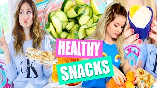 DIY Healthy After School Snack Ideas