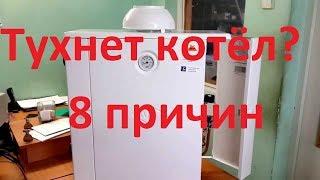 видео Почему тухнет газовый котел, тухнет газовый котел Житомир, что делать?