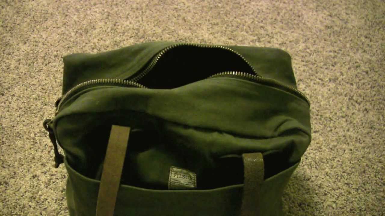Review Cc Filson Tote Bag